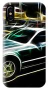 Electric Mustang IPhone Case