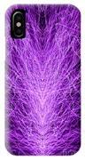 Electrostatic Purple IPhone Case