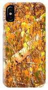 Elegant Autumn Branches IPhone Case