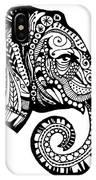 Elegant Elephant IPhone Case