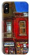 Elegant Victorian Beauty By Carole Spandau Montreal Memories Painter -art Historian Montreal IPhone Case