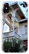 Elegant White House And Balcony IPhone Case
