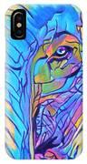Elephant - Sky Blue IPhone Case