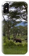 Elephant   #0068 IPhone Case