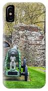 Elephant And Cannon Of The Tower IPhone Case