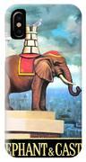 Elephant Castle IPhone Case