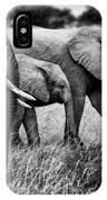 Elephant Family IPhone Case