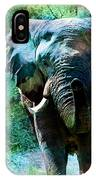 Elephant - Featured In Comfortable Art- Wildlife- And Nature Wildlife Groups IPhone Case
