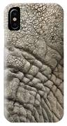 Elephant In Fresco Stle IPhone Case