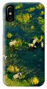 Elephants From Above IPhone Case