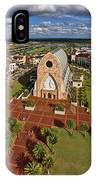 Elevated View Of Ave Maria Oratory IPhone Case