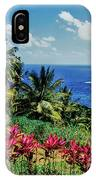 Elevated View Of Trees And Plants IPhone Case
