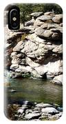 Eleven Mile Canyon - Mountain Stream IPhone Case