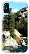Eleven Mile Canyon Stream IPhone Case