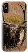 Elk Hairdo IPhone Case