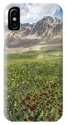 Elk Mountain Wildflowers IPhone Case