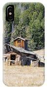 Elk Park Homestead IPhone Case