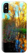 Elk River Inlet In The Fall IPhone Case