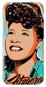 Ella Fitzgerald Pop Art IPhone Case