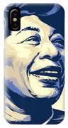 Ella Fitzgerald Portrait IPhone Case