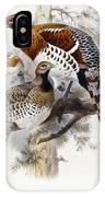 Elliot's Pheasant IPhone Case