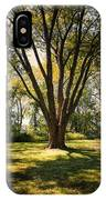 Elm In The Sunshine IPhone X Case