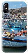Elounda Harbour IPhone X Case