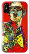Elton In Red IPhone Case