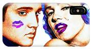 Elvis And Marilyn Monroe IPhone X Case