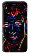 Elvis At Neon IPhone Case