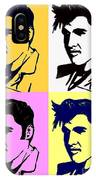 Elvis Pop X Four IPhone Case