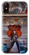 Elvis Presley At Albuquerque's 66 Diner IPhone Case