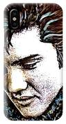 Elvis Presley Never Left The Building Alcohol Inks IPhone Case