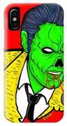elvis presley Zombified IPhone X Case