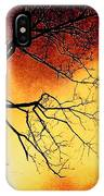 Ember Bough IPhone Case