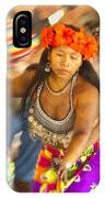 Embera Villagers In Panama IPhone Case