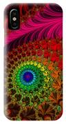Embroidered Silk And Beaded Square IPhone Case