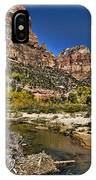 Emeral Pools Trail - Zion IPhone Case