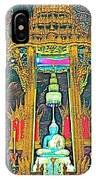 Emerald Buddha In Royal Temple At Grand Palace Of Thailand IPhone Case