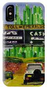 Emerald City Toll Plaza IPhone Case