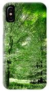 Emerald Clearing IPhone Case