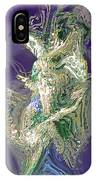 Emerald Elemental IPhone Case