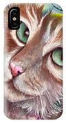 Emerald Eyes IPhone Case