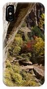 Emerald Falls Zion National Park IPhone Case