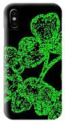 Emerald Isle Shamrocks  IPhone Case