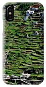 Emerald Madeira Terraces IPhone Case