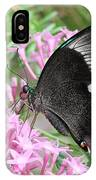 Emerald Peacock Swallowtail Butterfly #5 IPhone Case