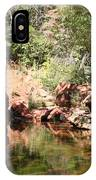 Emerald Pool Reflection IPhone Case