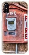 Emergency Fire Box IPhone Case