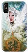 Emerging Angel Of Light IPhone Case